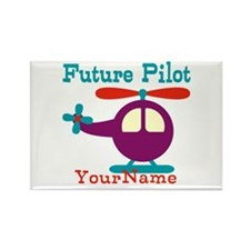 Future Pilot - Personalized Rectangle Magnet