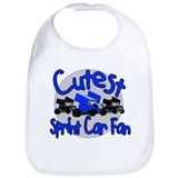 Cutest Fan Blue Bib