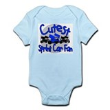 Cutest Fan Blue Infant Bodysuit
