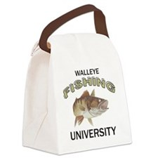 Walleye Fishing University Canvas Lunch Bag