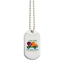 Cement Mixer Big Brother Dog Tags