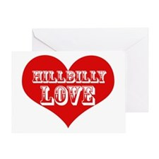 Hillbilly LOVE Greeting Card