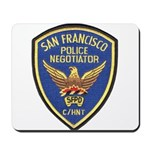SFPD Negotiator Mousepad