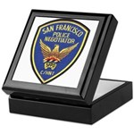 SFPD Negotiator Keepsake Box