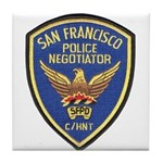 SFPD Negotiator Tile Coaster