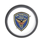 SFPD Negotiator Wall Clock