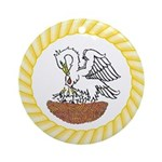 Order of the Pelican Ornament (Round)