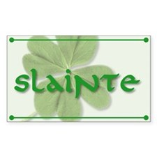 Slainte! Sticker (5x3)