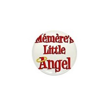 Memeres Little Angel Mini Button
