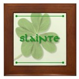Slainte! Framed Tile