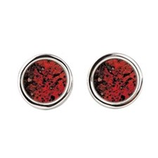 Red Granite Cufflinks