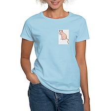Pink (Nekked) Dumbo Women's Pink T-Shirt