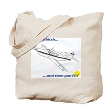 Fly! Rockwell Commander Tote Bag