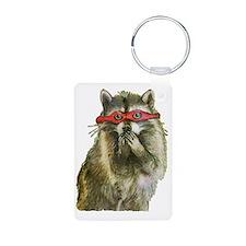 Naughty Raccoon Keychains