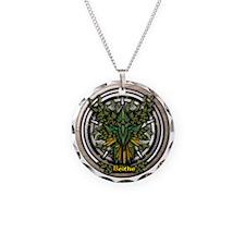 Birch Celtic Greenman Pentac Necklace