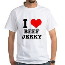 I Heart (Love) Beef Jerky Shirt