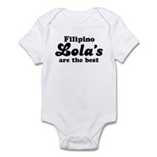Filipino Lola's are the Best Infant Bodysuit