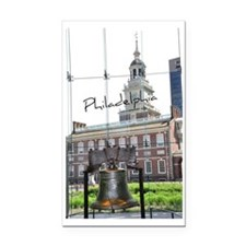 Philadephia_LibertyBell_Indep Rectangle Car Magnet