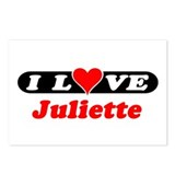 I Love Juliette Postcards (Package of 8)