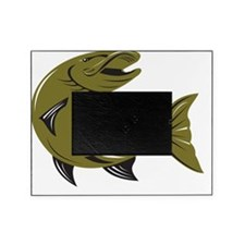 Muskie Muskellunge Fish Retro Picture Frame