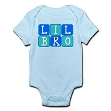 Lil Bro (Blue/Green) Infant Bodysuit