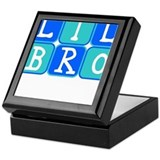 Lil Bro (Blue/Green) Keepsake Box