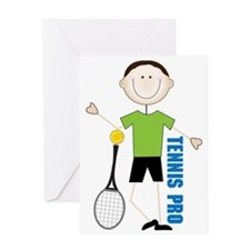 Tennis Pro Greeting Card