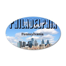 Philadelphia_10X8_puzzle_mou 20x12 Oval Wall Decal