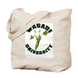 Wasabi University Tote Bag