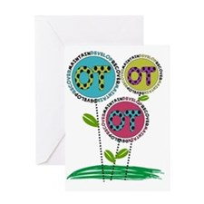 OT FLOWERS FINISHED 1 Greeting Card