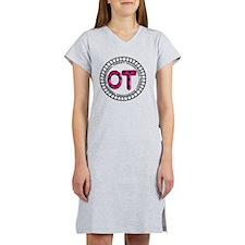 OT PENDANT FUSCHIA Women's Nightshirt