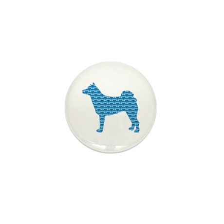 Bone Norrbottenspets Mini Button (10 pack)