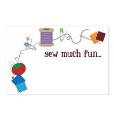 Sew Much Fun Postcards (Package of 8)