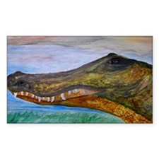 Alligator art Decal