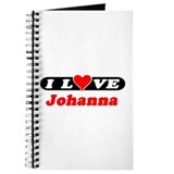 I Love Johanna Journal