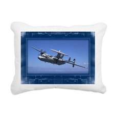 E2cHawkeye2 Rectangular Canvas Pillow