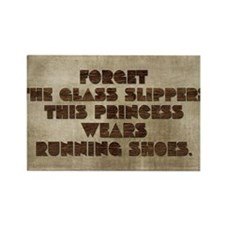 card Forget the glass slippers th Rectangle Magnet
