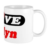 I Love Jocelyn Small Mugs