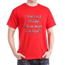 I'll Wear Red On Fridays T-Shirt