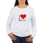 I Love Rabelais Women's Long Sleeve T-Shirt