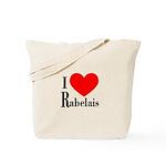 I Love Rabelais Tote Bag