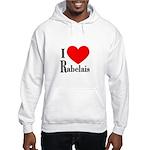I Love Rabelais Hooded Sweatshirt
