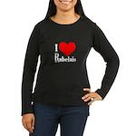 I Love Rabelais Women's Long Sleeve Dark T-Shirt