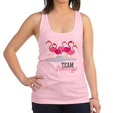 Team Flamingo Racerback Tank Top