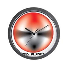 Red Planet Wall Clock