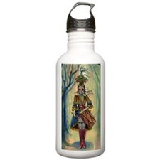 Victorian Drummer Girl Water Bottle
