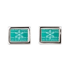 People Come into Our lives for a Reason Cufflinks