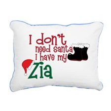 I Have My Zia Rectangular Canvas Pillow