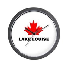 Lake Louise, Alberta Wall Clock