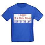 ShowMeTheLaw Kids Dark T-Shirt